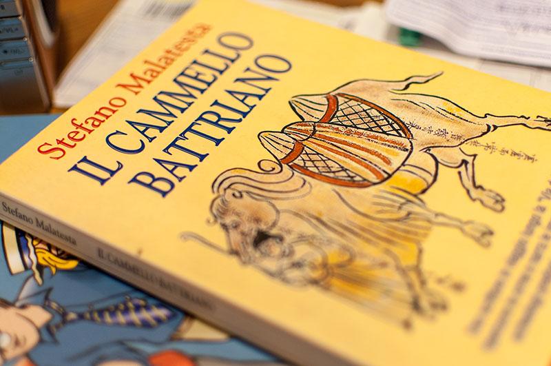 """copertina del volume di Stefano Malatesta """"Il Cammello Battriano"""""""