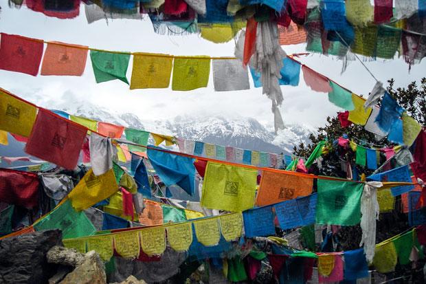 Bandiere di preghiera, Lung Ta in tibetano
